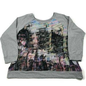 Lane Bryant Graphic Sweatshirt Size 26/28